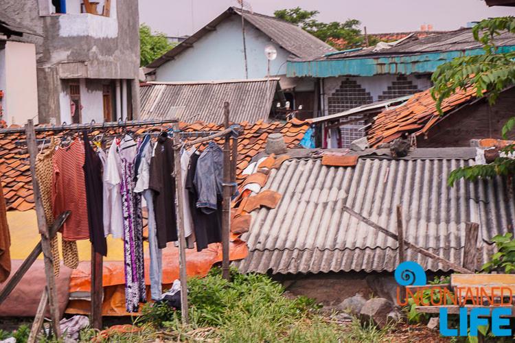 Jakarta Slum, Indonesia, Uncontained Life