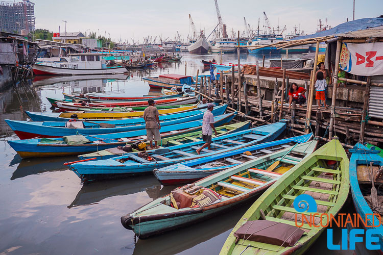 Jakarta Hidden Tours, Indonesia Uncontained Life Fishing Boats