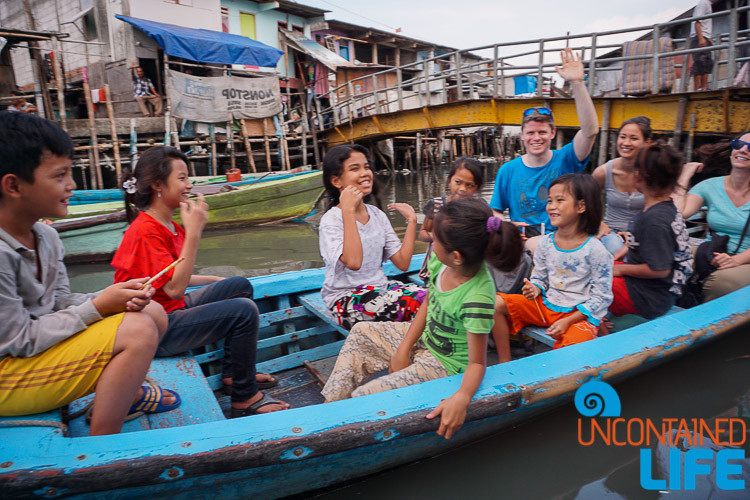 Jakarta Hidden Tours, Indonesia, Children, Boat Ride Uncontained Life