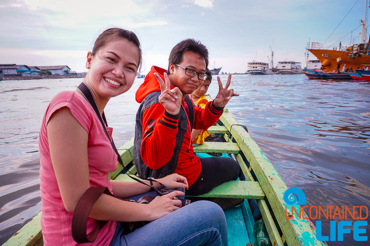 Uncontained Life, Boat Ride, Jakarta, Indonesia, College Students