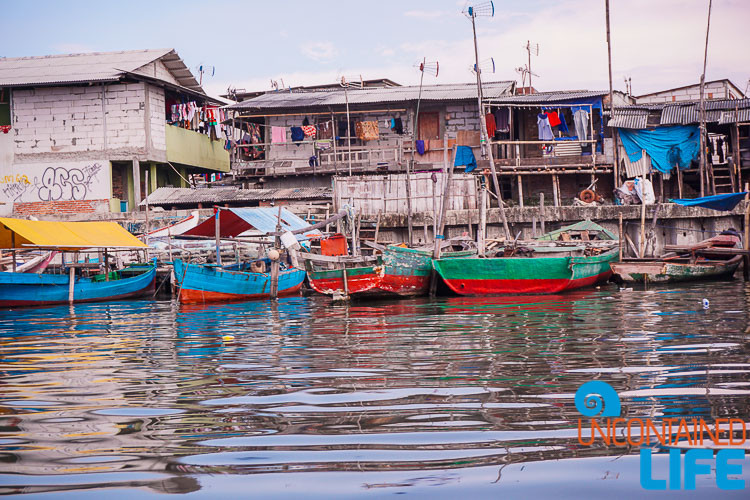 Jakarta Fishing Village, Indonesia, Uncontained Life, Boats