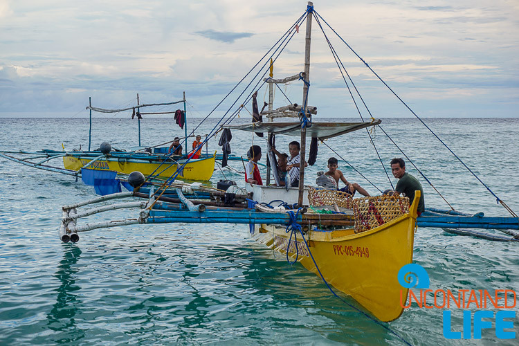 Fisherman, Langogan, Philippines, Uncontained Life