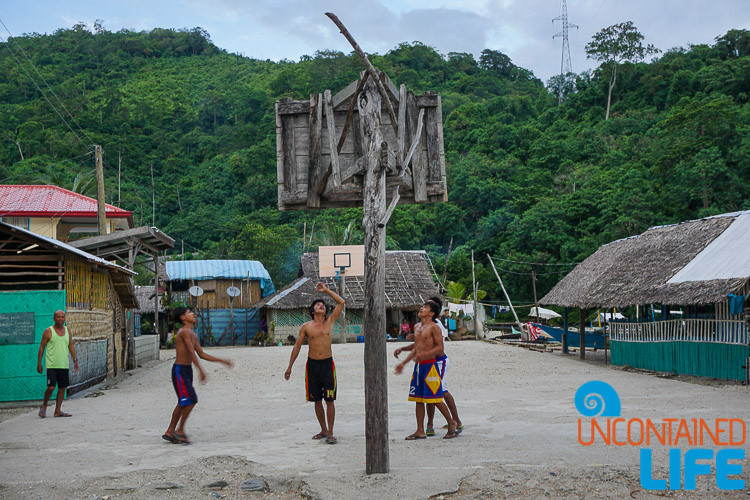 Local Basketball, Mangrove Resort in Langogan, Palawan, Philippines, Uncontained Life