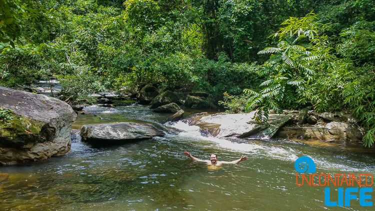 Swimming Hole, Olanguan Waterfalls Trail, Philippines, Uncontained Life