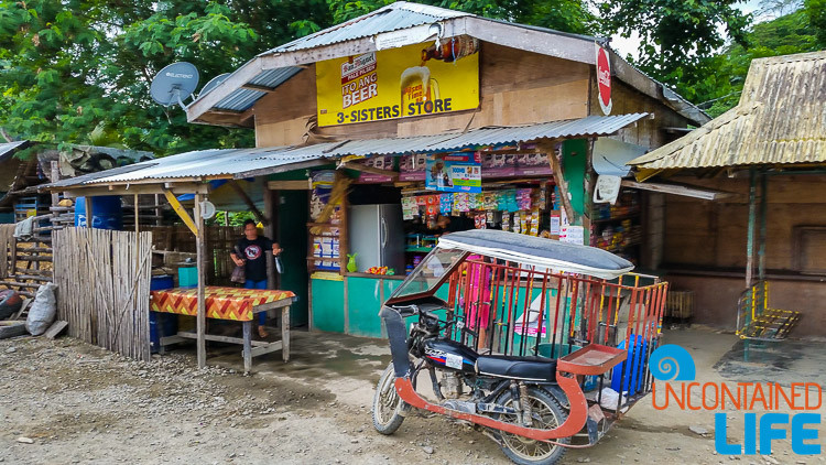 Local Store, Mangrove Resort in Langogan, Palawan, Philippines, Uncontained Life