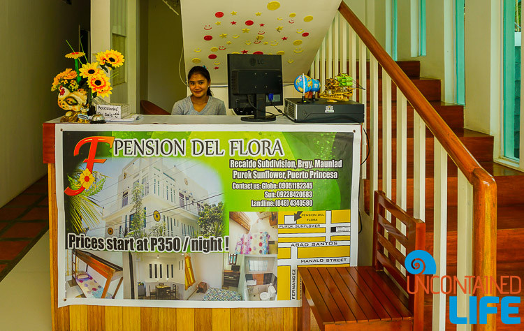 Pension Del Flora, Puerto Princesa, Philippines, Uncontained Life