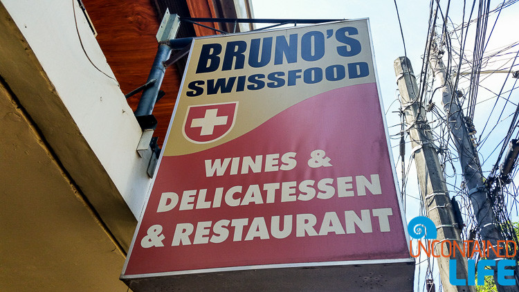 Bruno's Swissfood, Puerto Princesa, Philippines, Uncontained Life