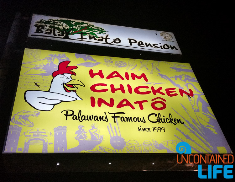Haim Chicken Inato Palawan, Uncontained Life