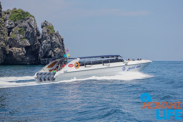 Speed Boat, Phi Phi Islands, Phuket, Thailand, Uncontained Life