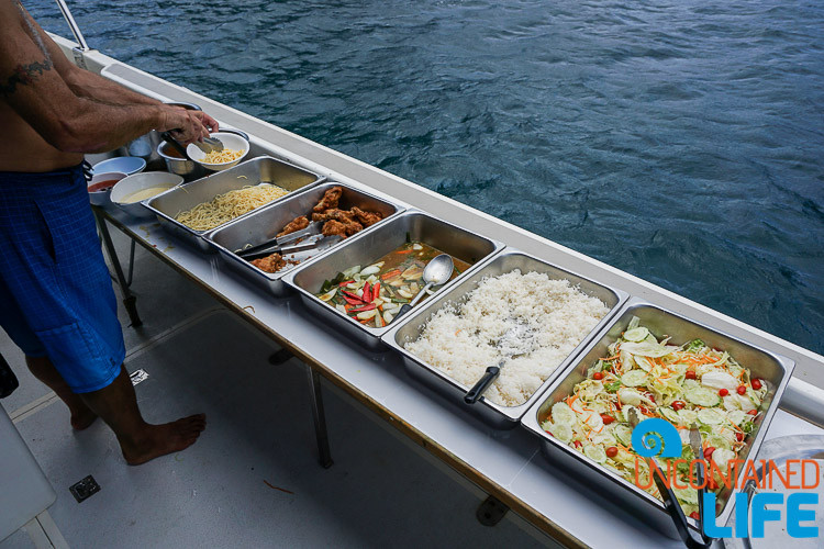 Lunchtime, Blue World Safari, Phi Phi Islands, Phuket, Thailand, Uncontained Life