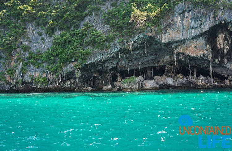Caves, Blue World Safari, Phi Phi Islands, Phuket, Thailand, Uncontained Life