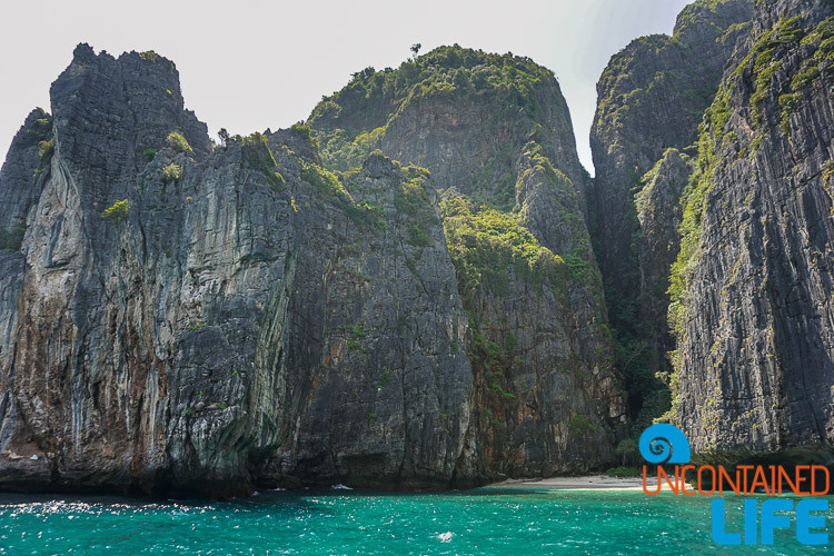 Cliffs, Blue World Safari, Phi Phi Islands, Phuket, Thailand, Uncontained Life