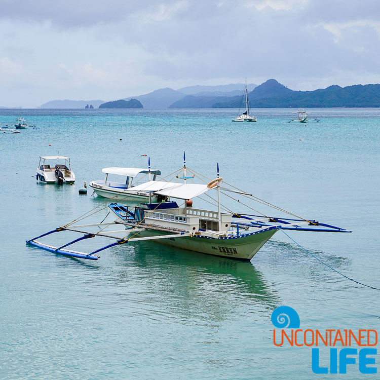 Outrigger Boats, Islands, El Nido, Palawan, Philippines, Uncontained Life
