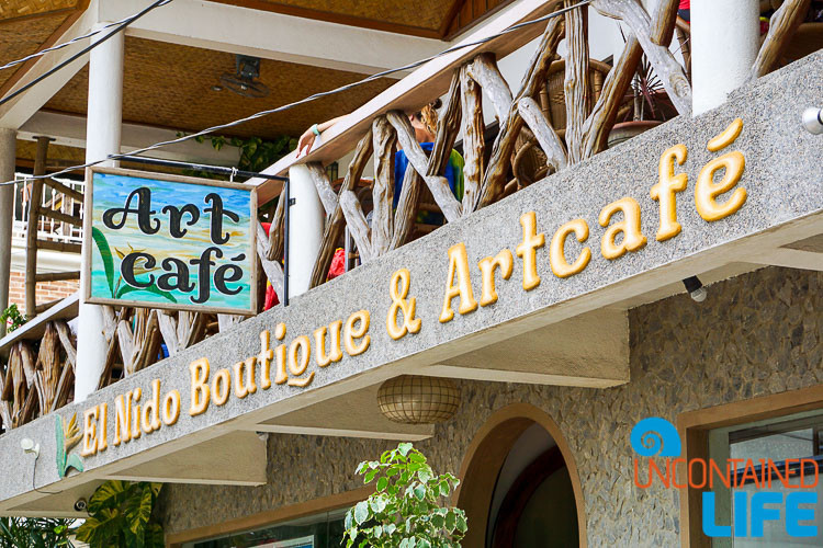 Art Cafe, El Nido, Palawan, Philippines, Uncontained Life