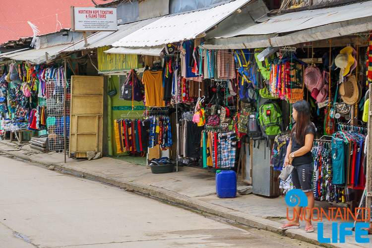 Local Shops, El Nido, Palawan, Philippines, Uncontained Life