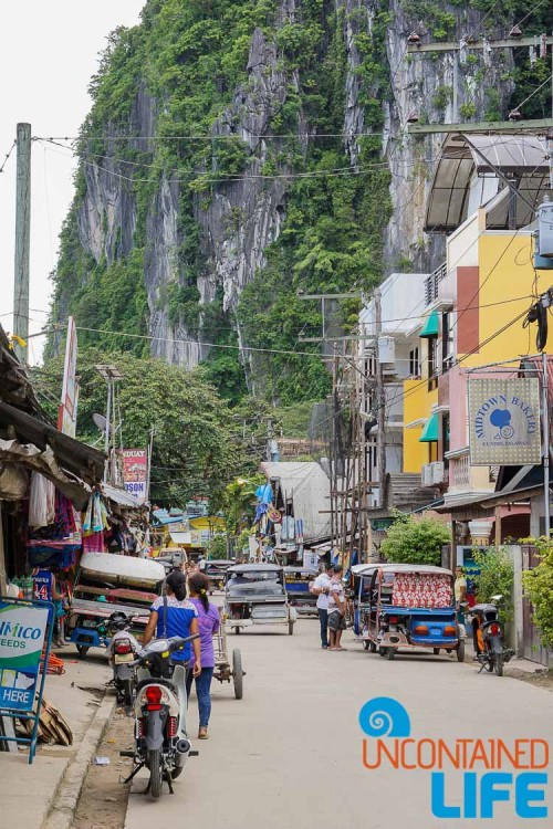 Streets, Cliffs, El Nido, Palawan, Philippines, Uncontained Life