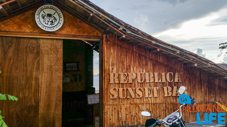 Republica Sunset Bar, El Nido, Palawan, Philippines, Uncontained Life