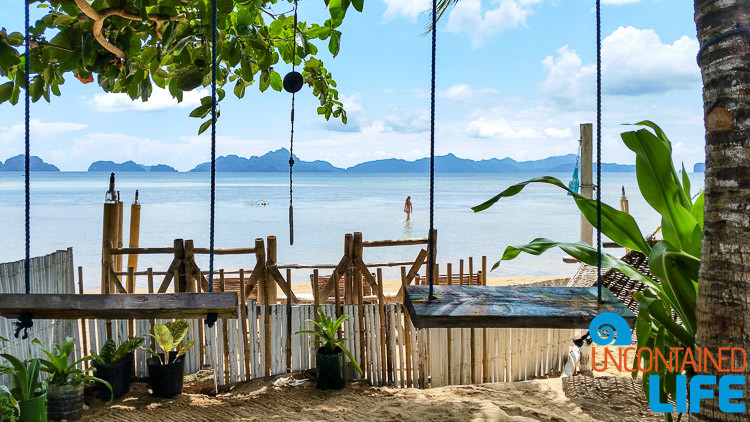 Happiness Beach Bar, El Nido, Palawan, Philippines, Uncontained Life
