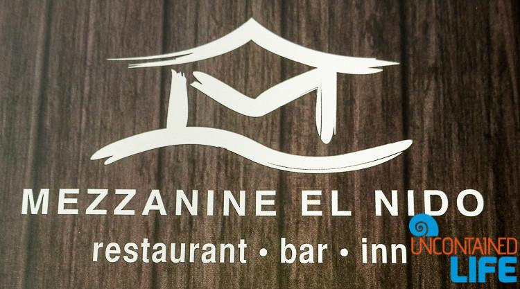 Mezzanine El Nido Restaurant, El Nido, Palawan, Philippines, Uncontained Life