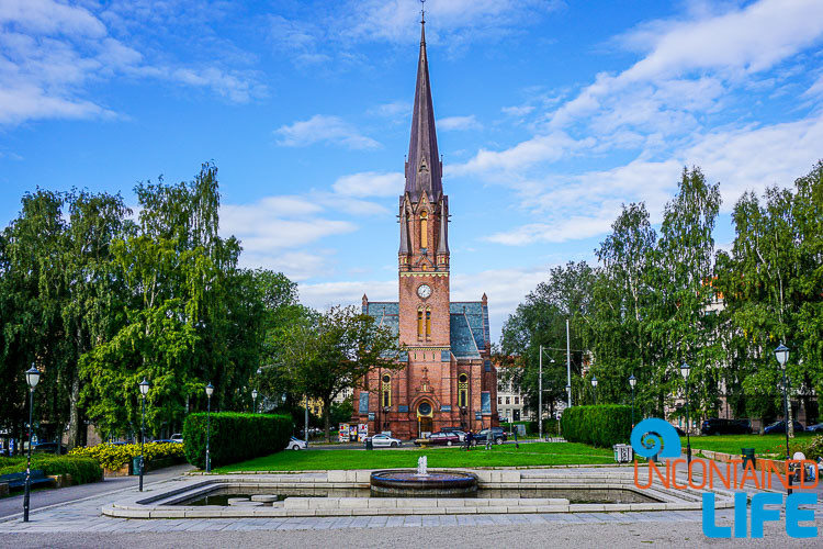 Church and Park, Oslo, Norway, Uncontained Life