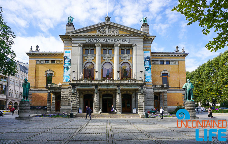 National Theatre, City Hall, Oslo, Norway, Uncontained Life