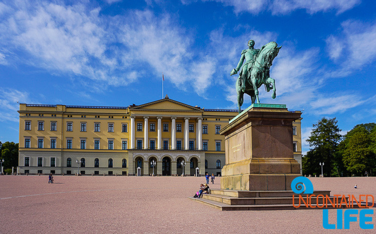 Royal Palace, City Hall, Oslo, Norway, Uncontained Life