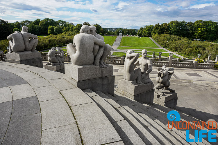 Vigeland Sculpture Park, Oslo, Norway, Uncontained Life