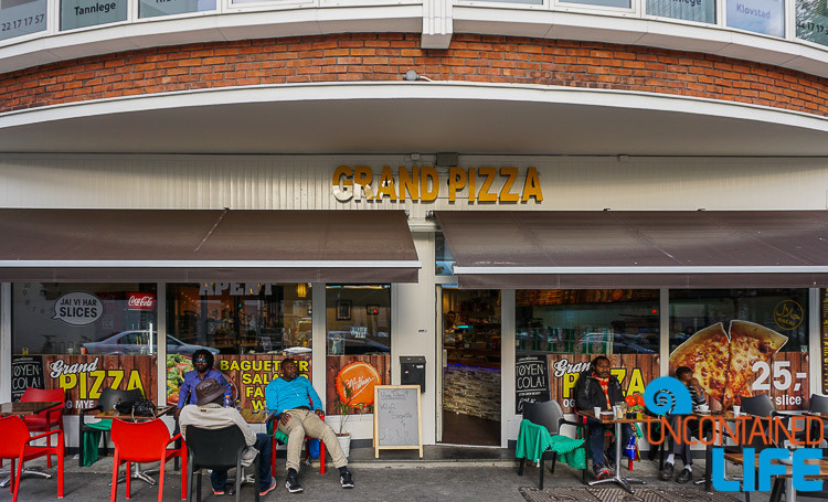 Grand Pizza, Oslo, Norway, Uncontained Life