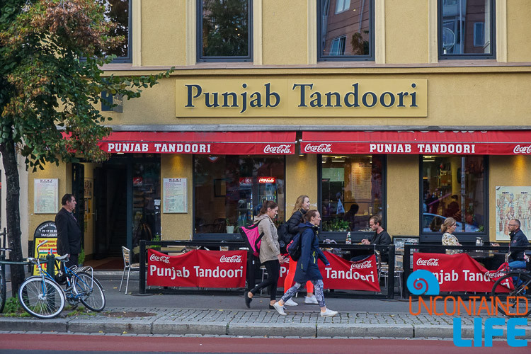 Punjab Tandoori, Oslo, Norway, Save money on food while traveling, Uncontained Life