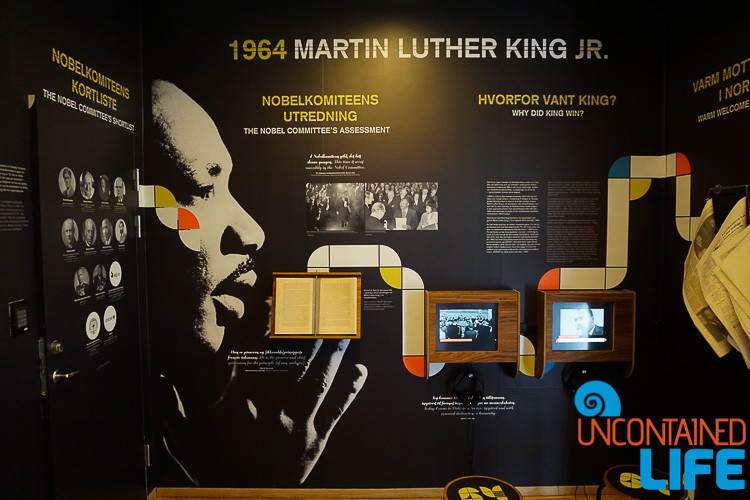 Martin Luther King Jr., Nobel Peace Prize Museum, Oslo, Norway, Uncontained Life