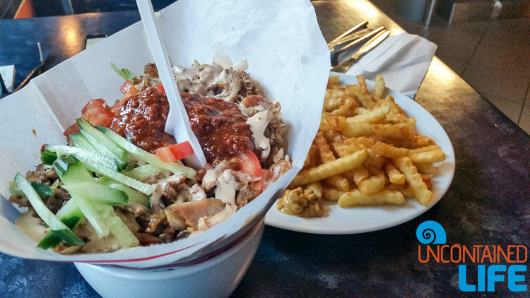Doner, Oslo, Norway, Save money on food while traveling, Uncontained Life