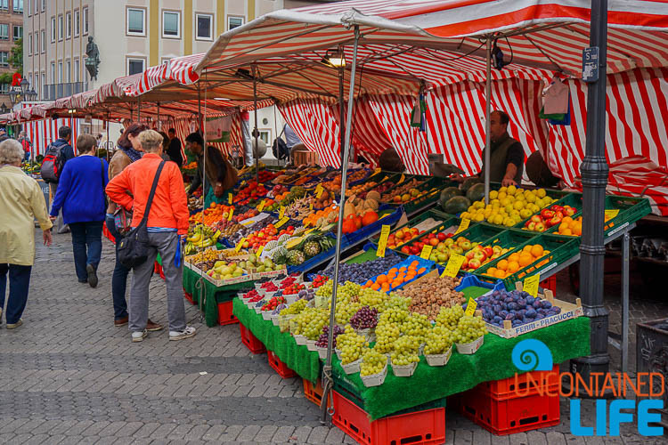 Local Farmers Market, Nuremberg, Germany, Uncontained Life