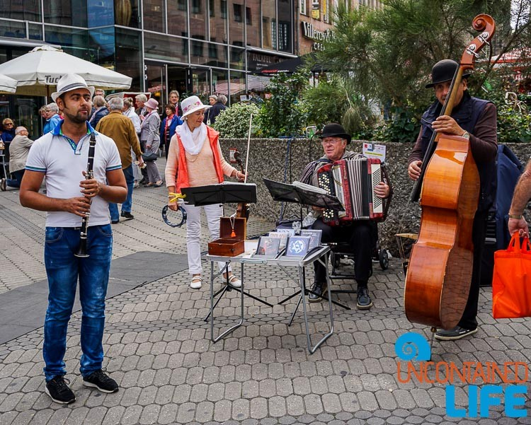 Street Musicans, Nuremberg, Germany, Uncontained Life