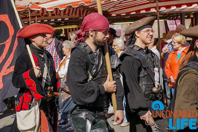 Pirates, Parade, Altstadfest, Nuremberg, Germany, Uncontained Life