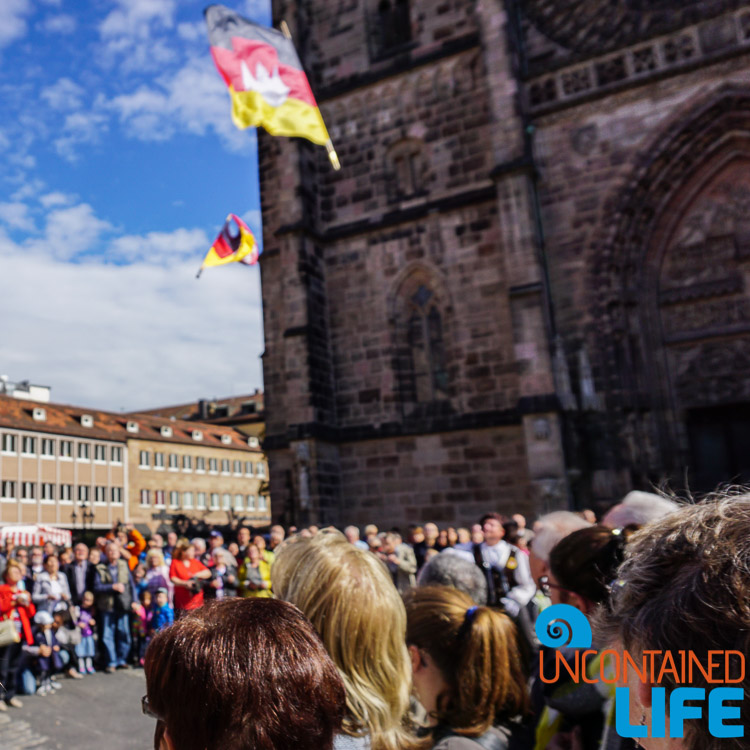 Flying Flags, Parade, Altstadfest, Nuremberg, Germany, Uncontained Life