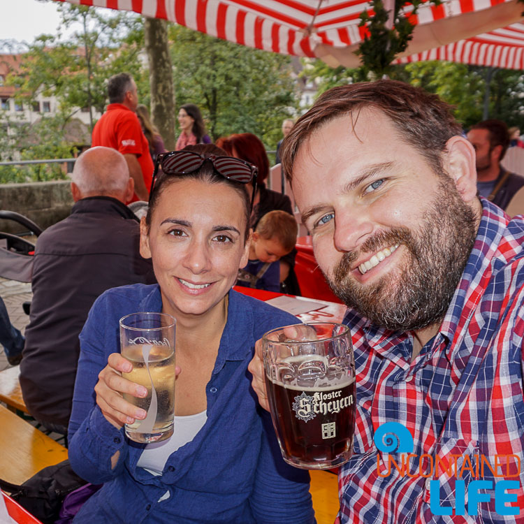 Beer, Wine, Altstadfest, Nuremberg, Germany, Uncontained Life