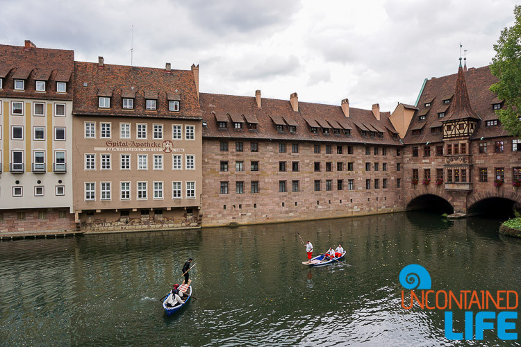 Water Joust, Altstadfest, Nuremberg, Germany, Uncontained Life