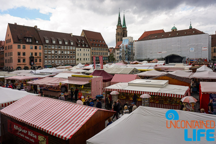 Market, Nuremberg, Germany, Uncontained Life