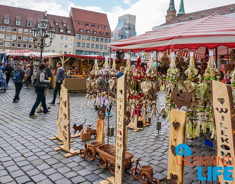 Autumn Market, Nuremberg, Germany, Uncontained Life
