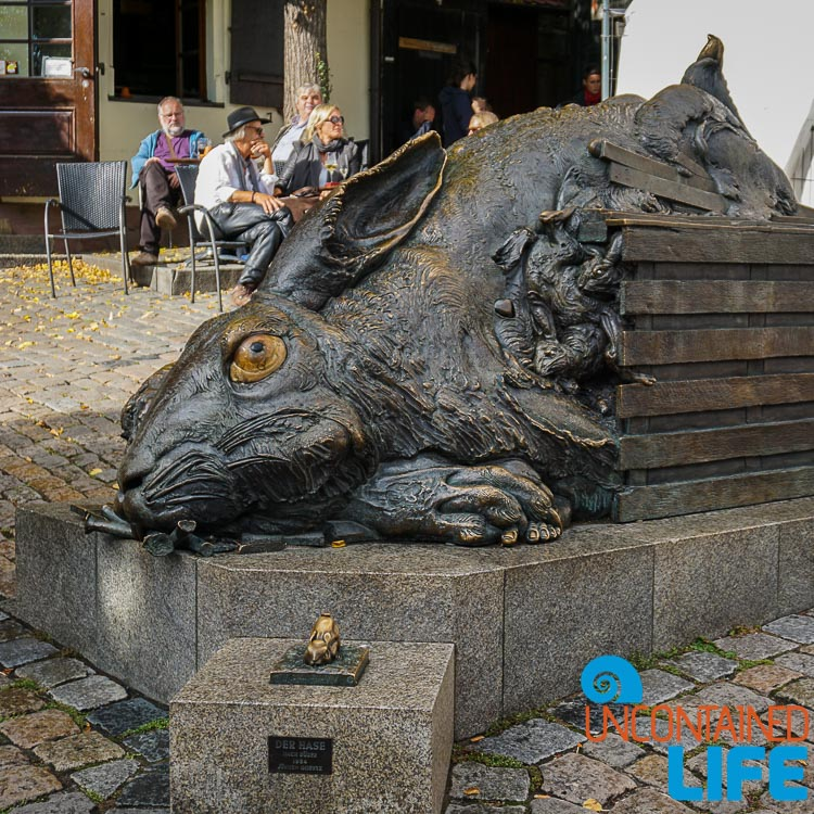 Rabbit Statue, Nuremberg, Germany, Uncontained Life