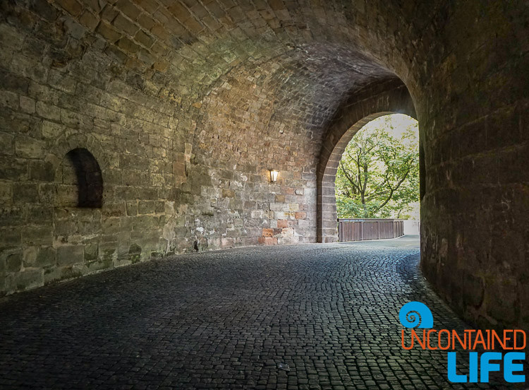 Tunnel, Nuremberg, Germany, Uncontained Life
