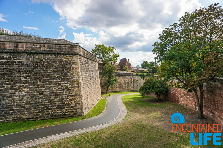 Fortress Wall, Nuremberg, Germany, Uncontained Life