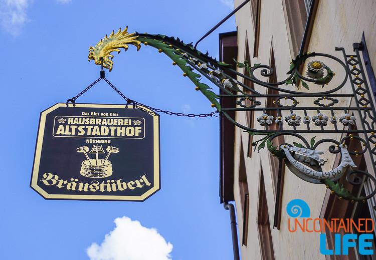 Hausbrauerei Altstadthof, Nuremberg, Germany, Uncontained Life