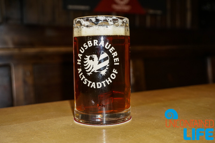 Hausbrauerei Altstadthof, Red Beer, Nuremberg, Germany, Uncontained Life