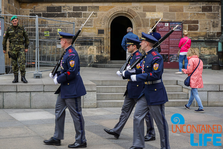 Soldiers in Uniform, Prague, Czech Republic, Uncontained Life