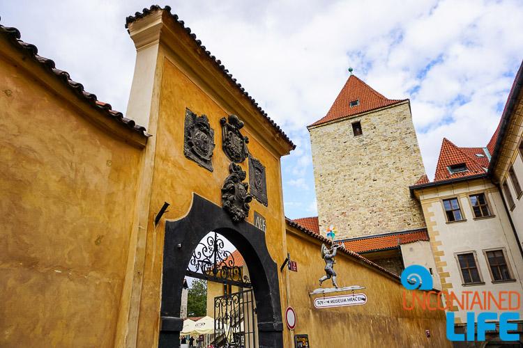 Black Tower, Prague, Czech Republic, Uncontained Life