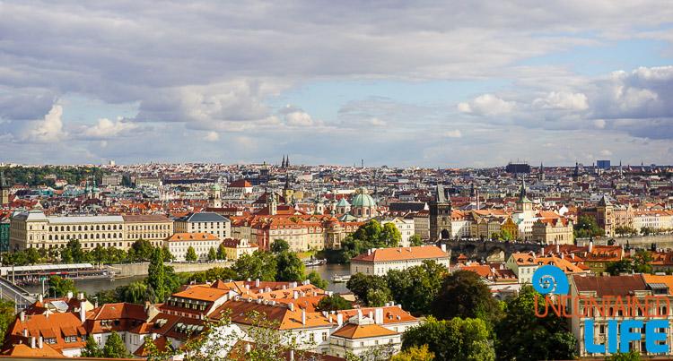 Bastion, Rooftops, Prague, Czech Republic, Uncontained Life