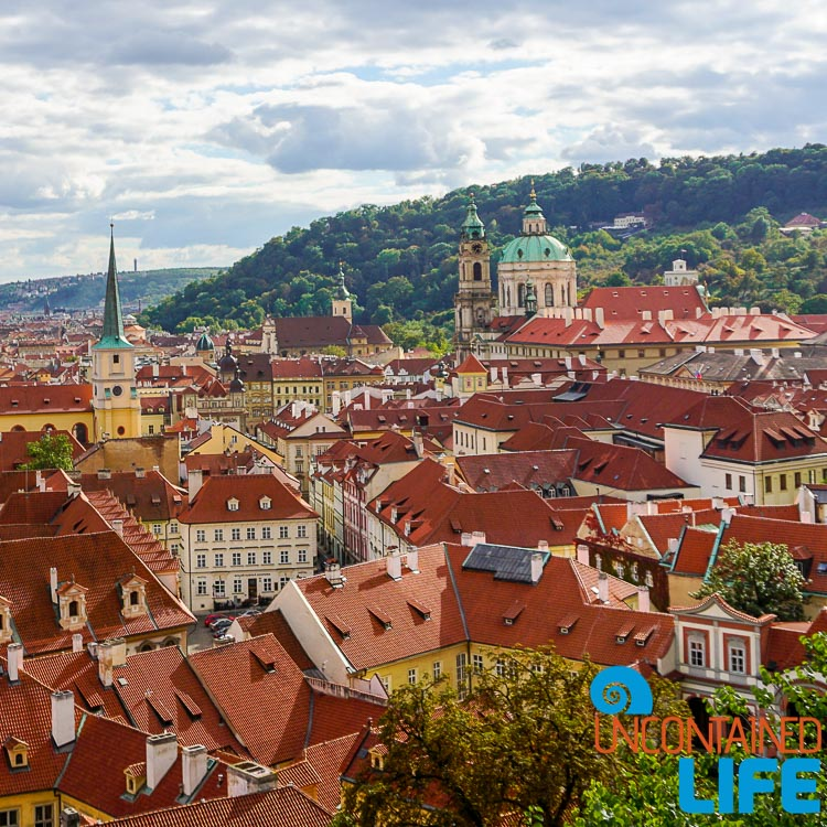 Rooftops, Prague, Czech Republic, Uncontained Life