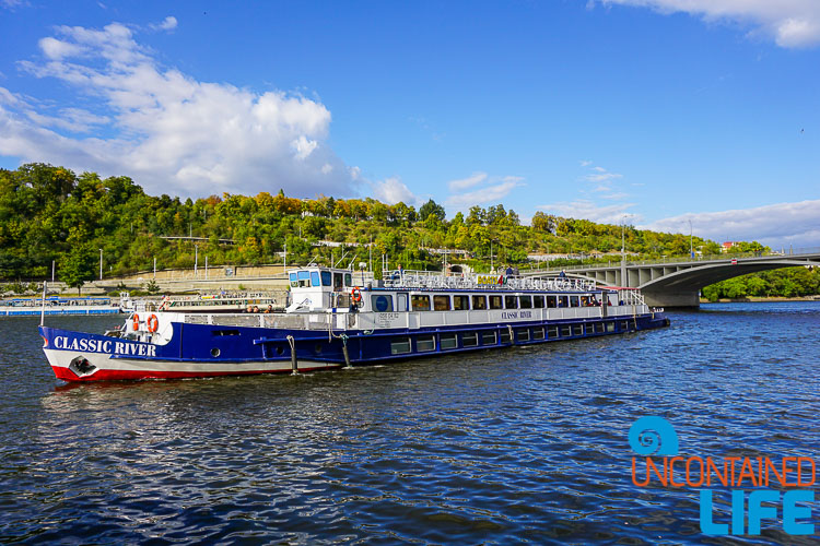 Vltava River, Prague, Czech Republic, Uncontained Life