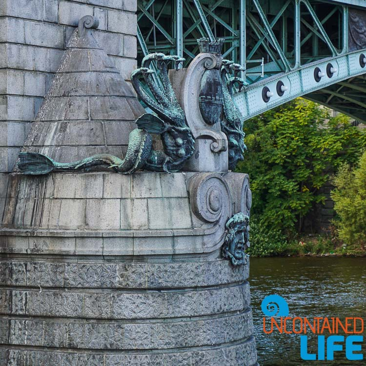 Iron Bridge Sculpture, Prague, Czech Republic, Uncontained Life